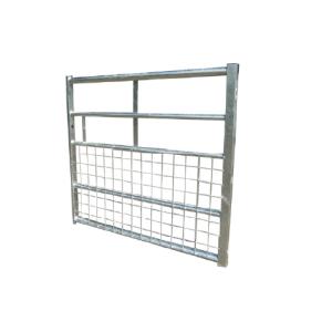 Metal gate 5 bar half mesh