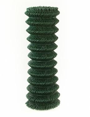 Green Coated Chain Link