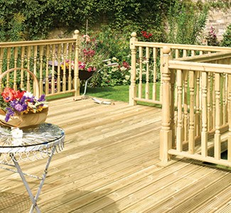 Colonial Decking