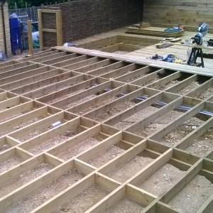 Timber Joists in Location