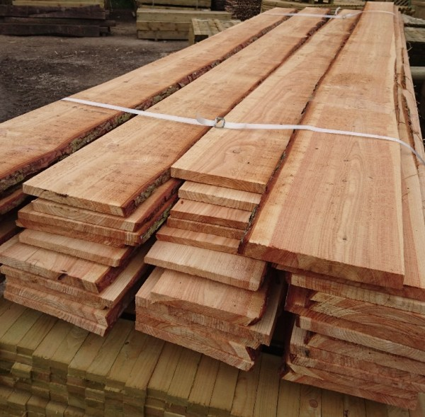 Larch Waney edged Boards