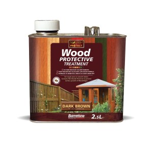 Wood Protective-2.5L-Dark-Brown