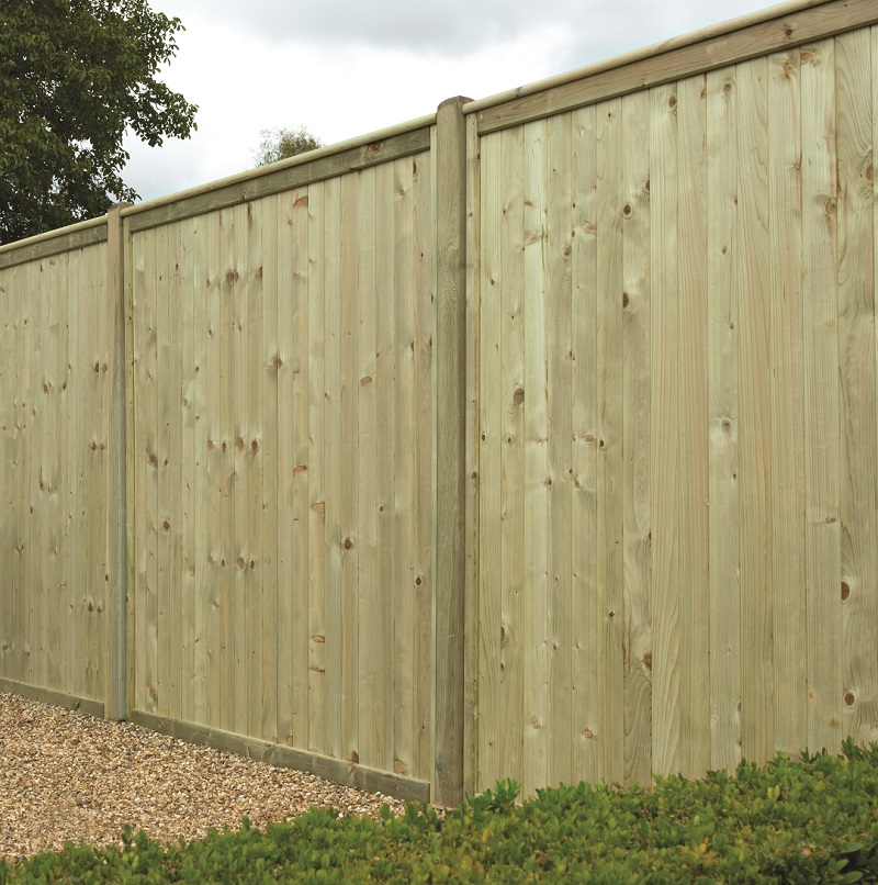 Tongue And Groove Flat Top Panel Hartwells Fencing