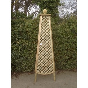 Large Wooden Obelisk