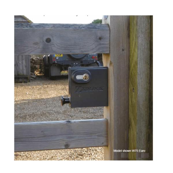 Zedlock Wooden Gate Lock