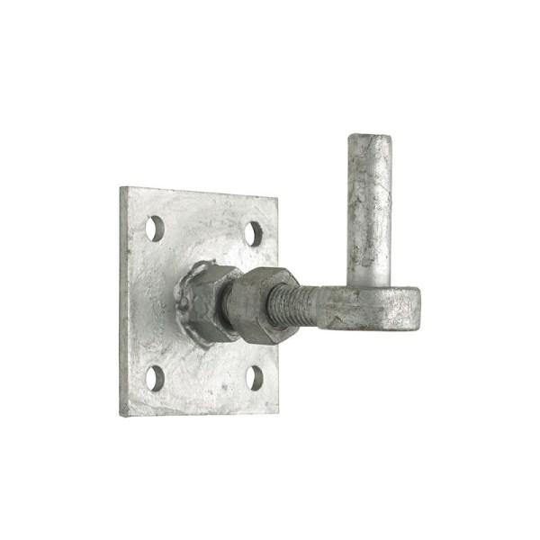 Galvanised Adjustable Hooks On Plates
