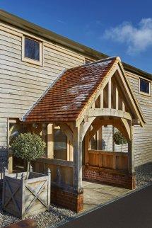 Oak Porches & Enclosed Framed Hartwood
