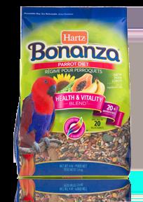 Hartz Bonanza Parrot Diet Hartz
