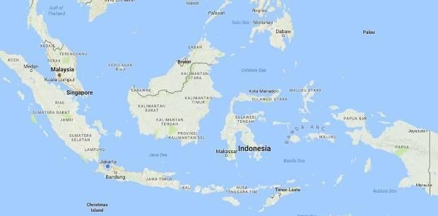 Semoga gambar peta ukuran besar tersebut berguna bagi anda. 34 Nama Provinsi Di Indonesia Beserta Ibukotanya Paling Lengkap