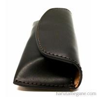 leathereyeglasscasebk