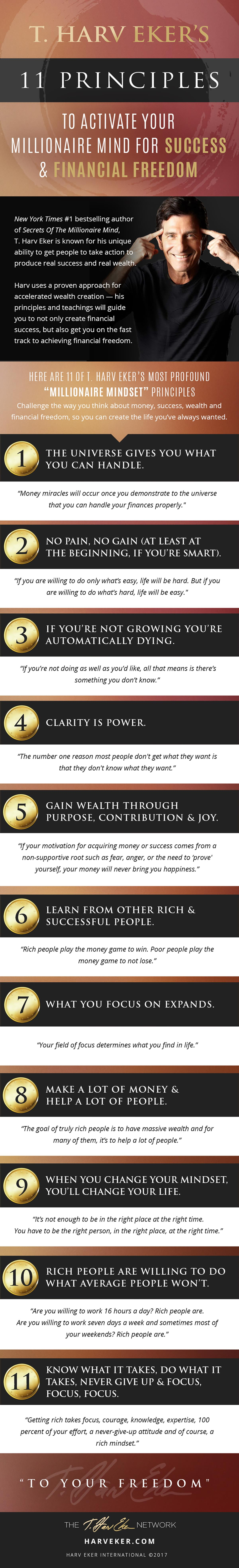 11 Principles To Activate Your Millionaire Mind For Success & Financial Freedom