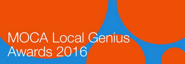MOCA Local Genius Awards 2016 banner