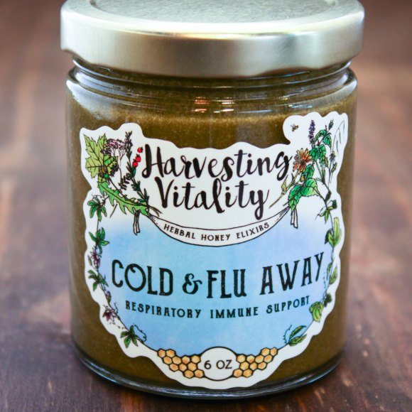Cold and Fly Away Honey by Harvesting Vitality