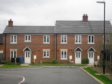 Housing Association new build houses