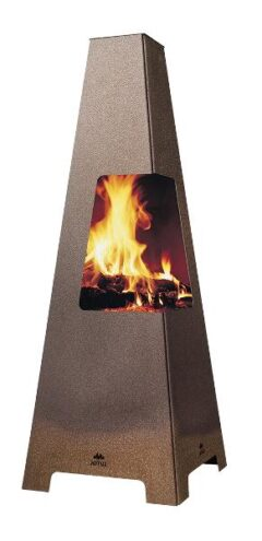 Pob Faro 20 Outdoor Fire Patio Heater Wood Pellets  Harworth Heating