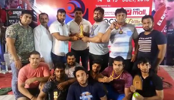 32वीं हरियाणा स्टेट पावर लिफ्टिंग चैंपियनशिप में सोनीपत रहा प्रथम स्थान पर
