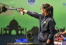 Manu Bhaker Shoots Another Gold in Asian Airgun Championship