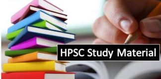 HPSC Study Material: For HCS Exam in Hindi & English – Download PDF