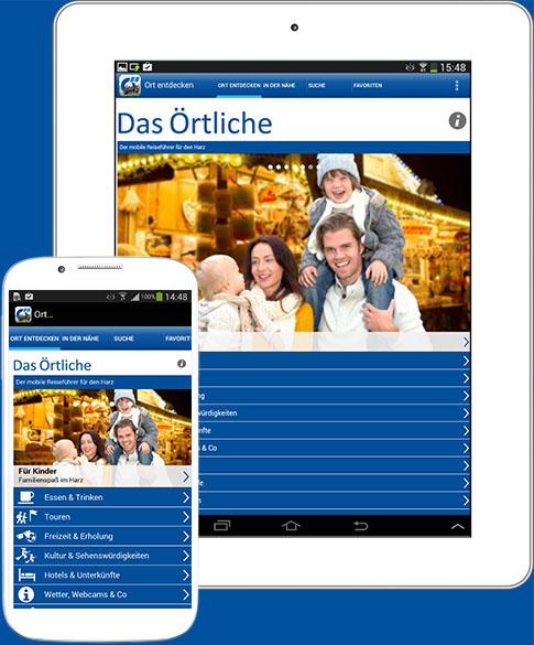 Die Harz-App für Android