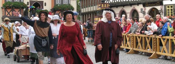 Stadtführung in Wernigerode