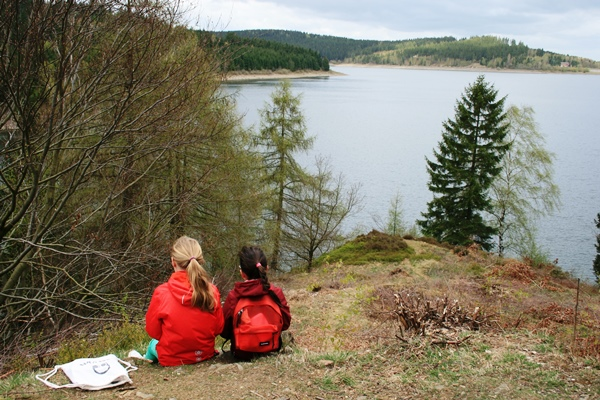 Picknick am Granestausee
