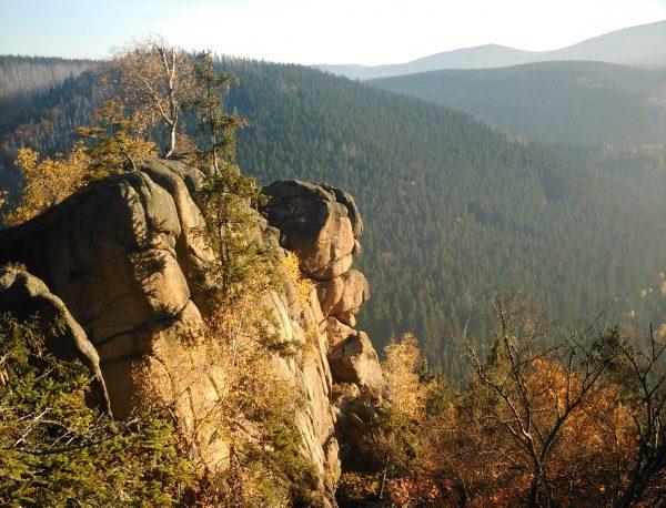 Rabenklippen im Harz
