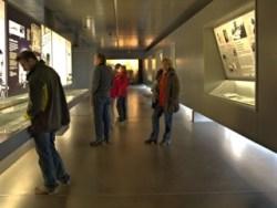 Bild: In der Gedenkstätte Konzentrationslager MITTELBAU-DORA bei Nordhausen.