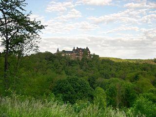 Bild: Schloss Rammelburg im Wippertal.