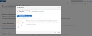 Page Edit Restrict