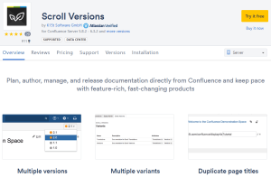 Confluence Page Versioning