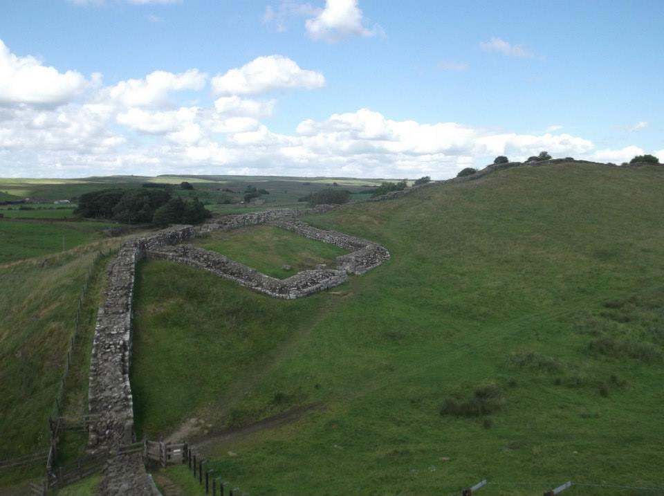 Image of Hadrian's Wall in Cumbria, United Kingdom
