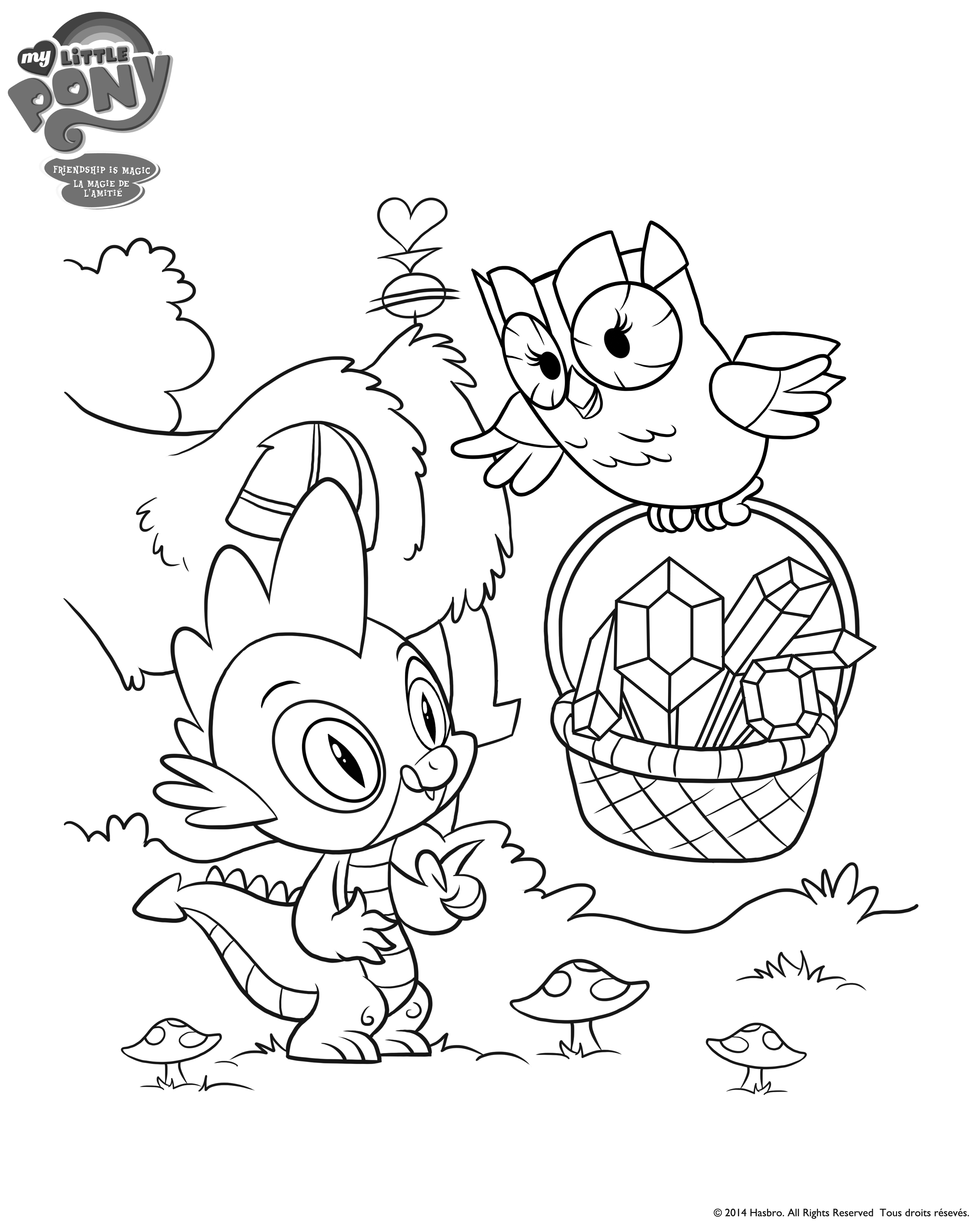 My Little Pony Games Coloring Pages In Color Coloring Page