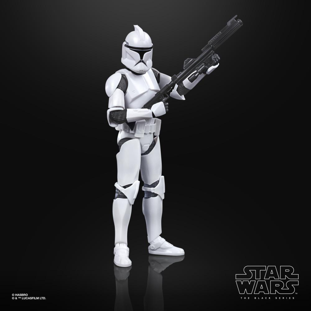 Star Wars The Black Series Phase I Clone Trooper Toy 6 Inch Scale Star Wars The Clone Wars Figure Kids Ages 4 And Up Star Wars