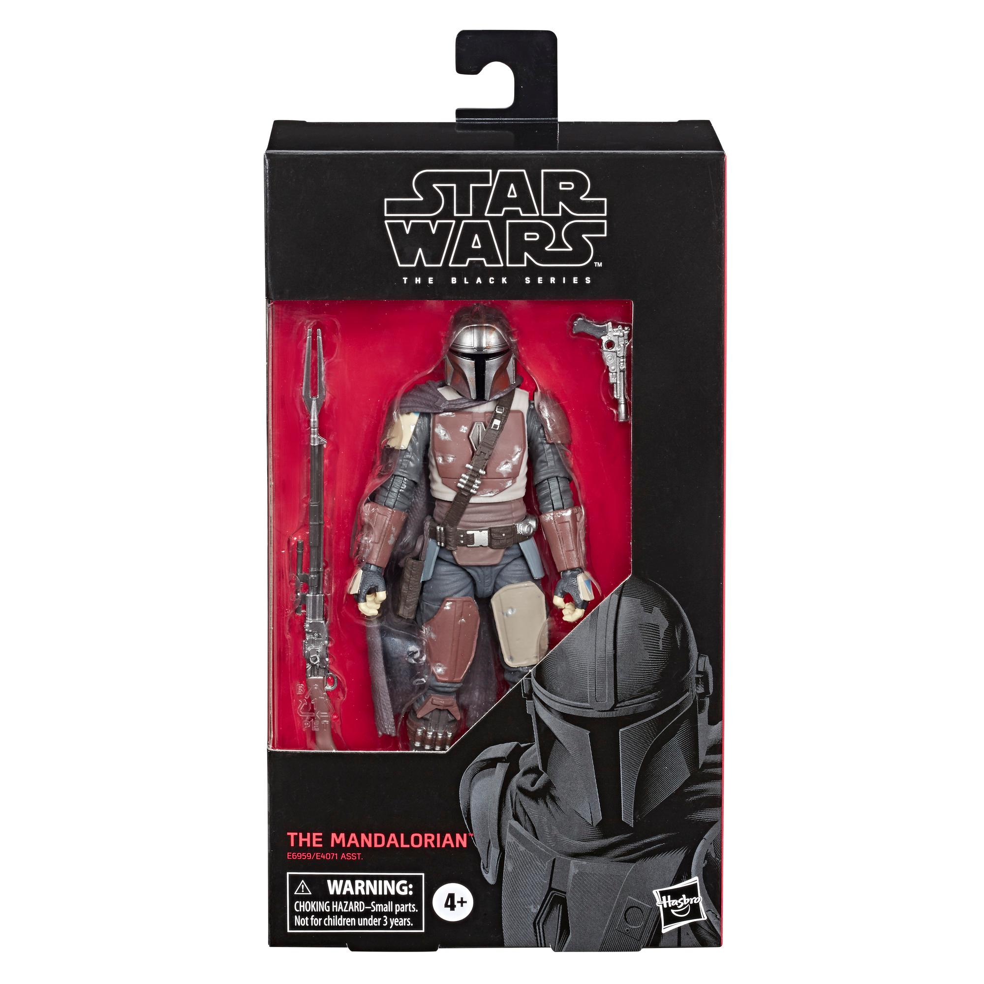 Star Wars The Black Series The Mandalorian Toy 6 Inch Scale Collectible Action Figure Toys For Kids Ages 4 And Up Star Wars