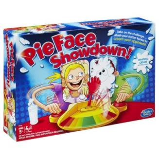 pie face showdown game hasbro