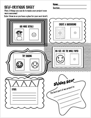 Murphy, L / Mrs. Murphy's Art Worksheets