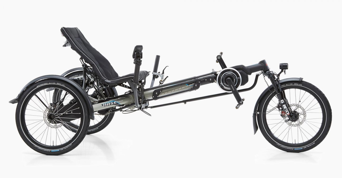 KETTWIESEL EVO STEPS Recumbent Trike with E-Drive System