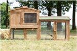 ► Zooprimus Stall 1 – Kaninchenstall Hasenstall Hasenkäfig Außenbereich Vergleich