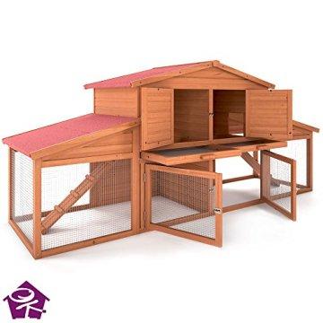 serina kaninchenstall hasenstall hasenk fig leopold der. Black Bedroom Furniture Sets. Home Design Ideas