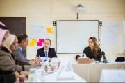 الملكة رانيا: توفير تعليم نوعي للطلبة واجب وليس خيارا