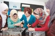 الأميرة بسمة تطلع على برامج مركز الدعم الاجتماعي