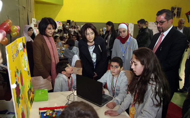 توزيع جوائز المسابقة الوطنية الثالثة لروبوت الأطفال