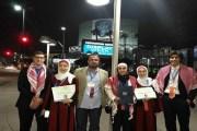 طلاب أردنيون يحصدون مراكز متقدمة في مسابقة