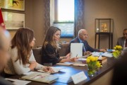 الملكة تترأس اجتماع مجلس أمناء المجلس الوطني لشؤون الاسرة
