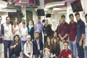 شركة ريادية أردنية تبتكر أول كتيب تعليمي للمكفوفين يعنى بفن الأوريغامي- صور