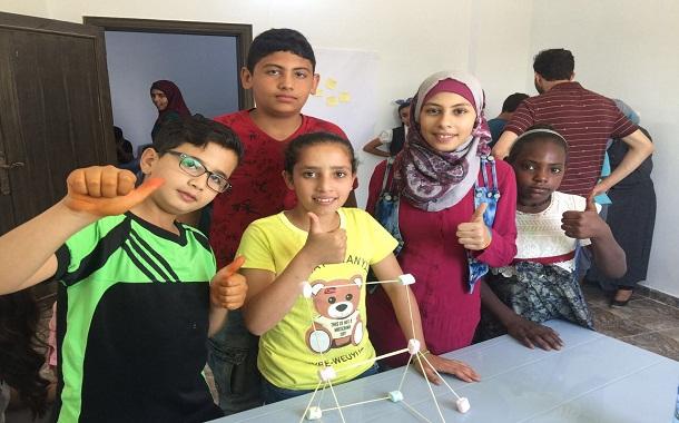بيزورلد الأردن تطلق ورشة ريادية للأطفال في مخيم جرش للاجئين