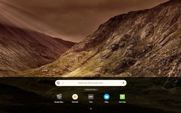 جوجل تختبر واجهات جديدة لنظام كروم أو إس تُشبه المستخدمة في أندوريد