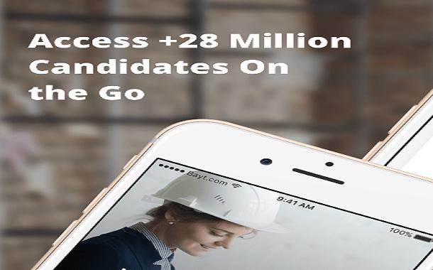 28 مليون سيرة ذاتية على تطبيق