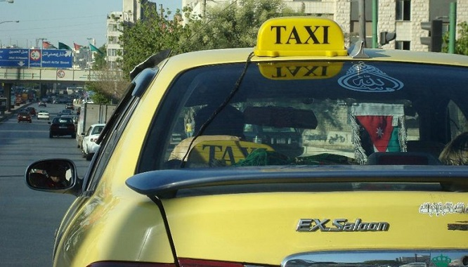 إطلاق نظام إتصال وتتبع للتكسي الأصفر في عمان