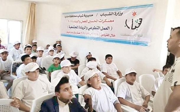 بدء معسكرات المرشدات وسواعد الإنقاذ ضمن (الحسين للعمل والبناء)